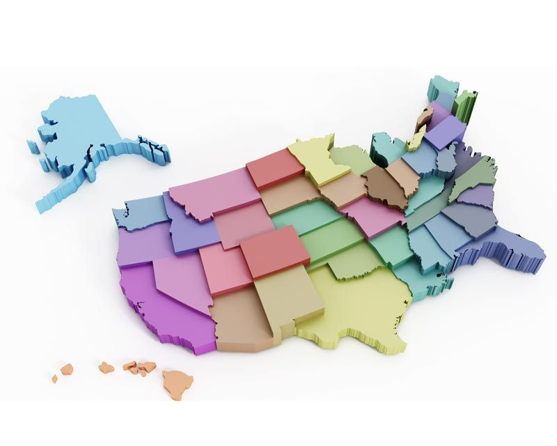 The Most Popular Languages by Region in the United States