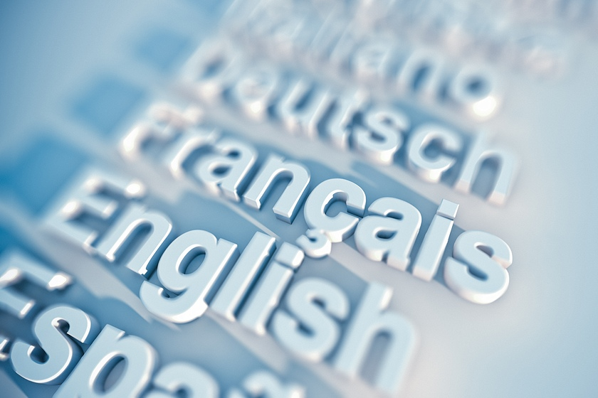 list of languages graphic