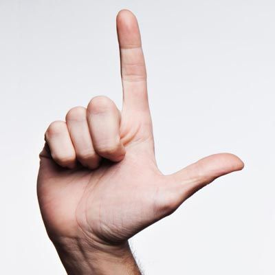 sign language hand