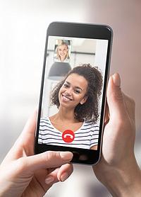 VRI webinar video call